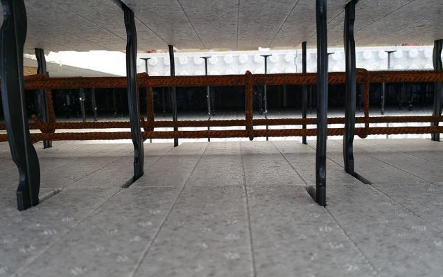 Nombreuses buses d'injection sur le système constructif LECOBLOC