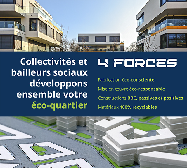 LECOBLOC pour les collectivités : écologique, éco-responsable, BBC, passif et positif