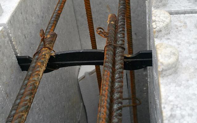Installation des ferrailleurs